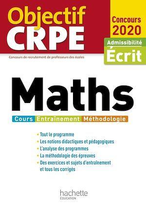 Objectif CRPE ; maths (édition 2020)