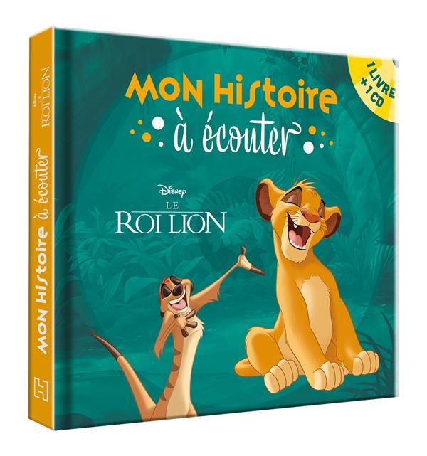 Le Roi Lion Disney Disney Hachette Livre Cd Audio