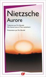 Vente Livre Numérique : Aurore  - Friedrich Nietzsche