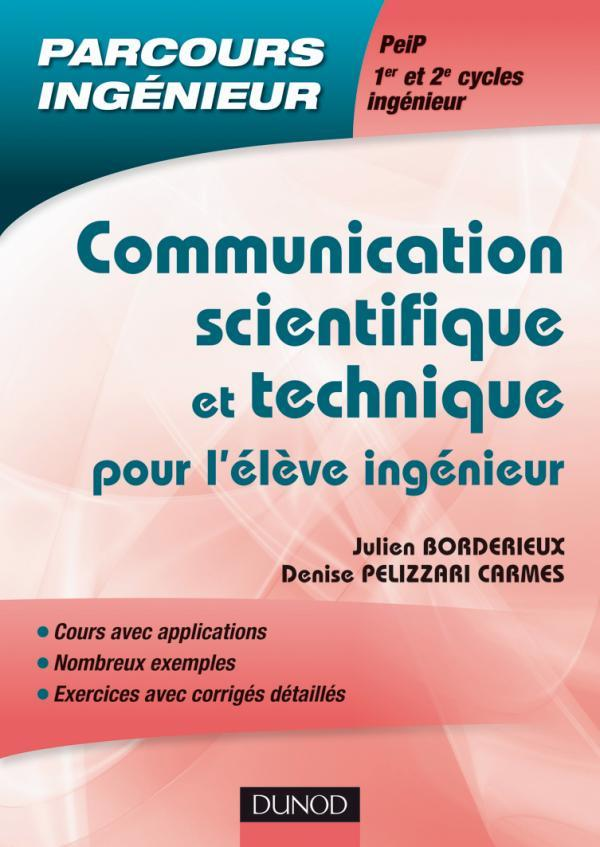 Communication Scientifique Et Technique Pour L'Eleve Ingenieur
