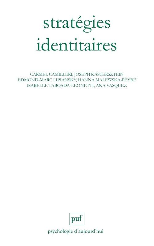 Stratégies identitaires (4e édition)