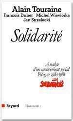 Vente Livre Numérique : Solidarité  - Alain TOURAINE - Michel WIEVIORKA - François DUBET