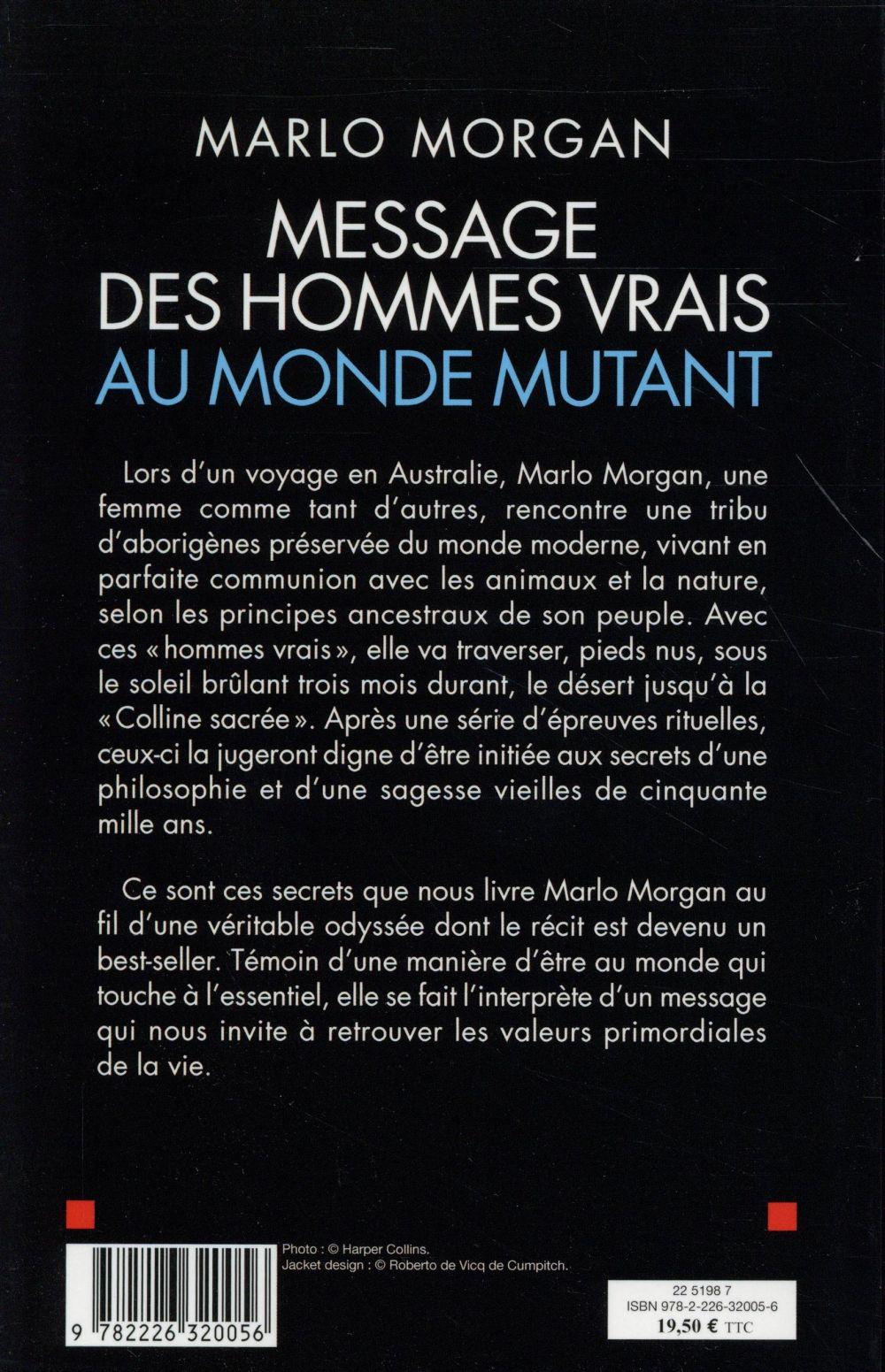 Message des hommes vrais au monde mutant (2e édition)