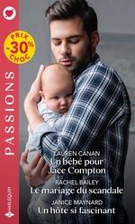 Vente EBooks : Un bébé pour Jace Compton - Le mariage du scandale - Un hôte si fascinant  - Janice Maynard - Rachel Bailey - Lauren Canan