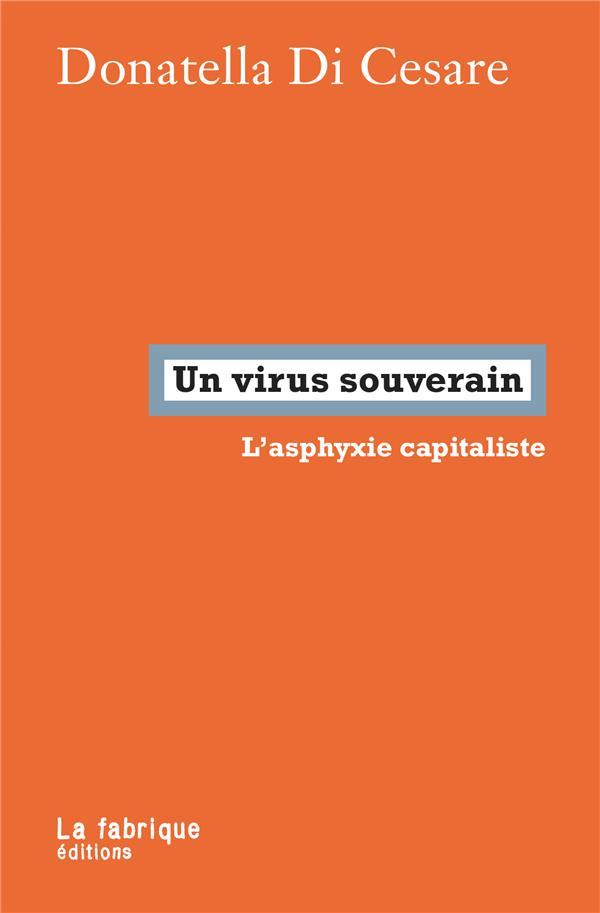 Un virus souverain ; l'asphyxie capitaliste