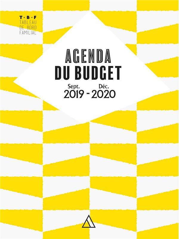 TBF - agenda du budget ; sept. 2019/ déc. 2020