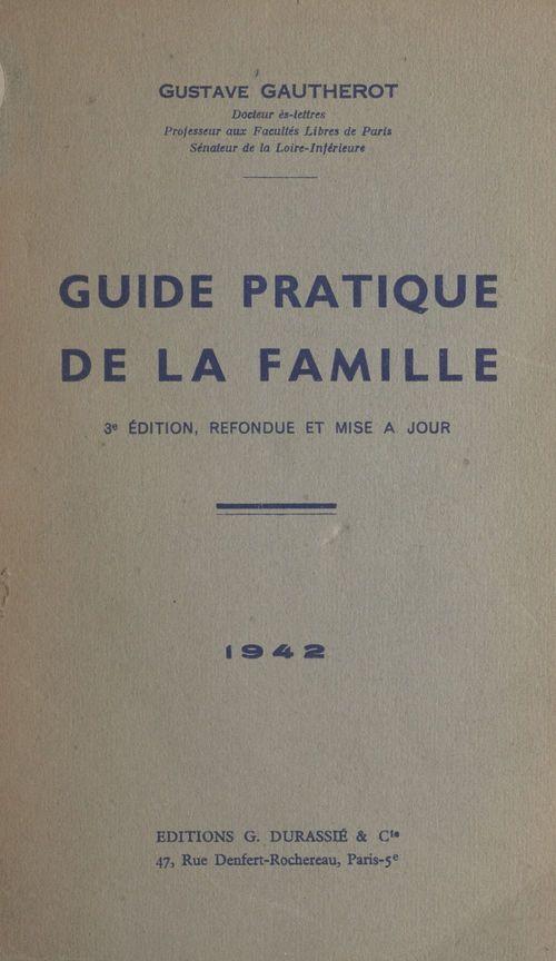 Guide pratique de la famille