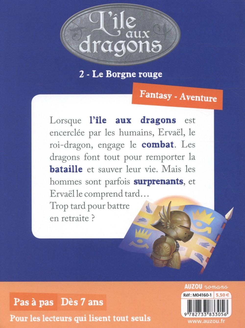 L'île aux dragons T.2 ; le borgne rouge