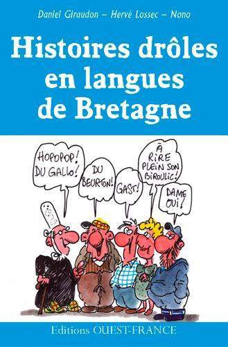 Histoires drôles en langues de Bretagne ; coffret