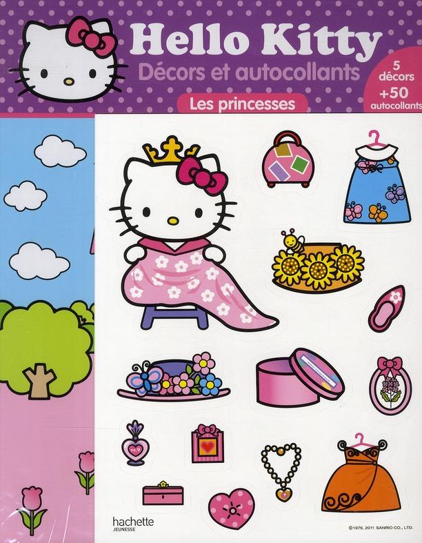 Decors Et Autocollants ; Les Princesses