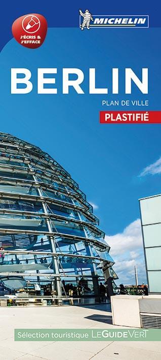 BERLIN - PLAN DE VILLE PLASTIFIE