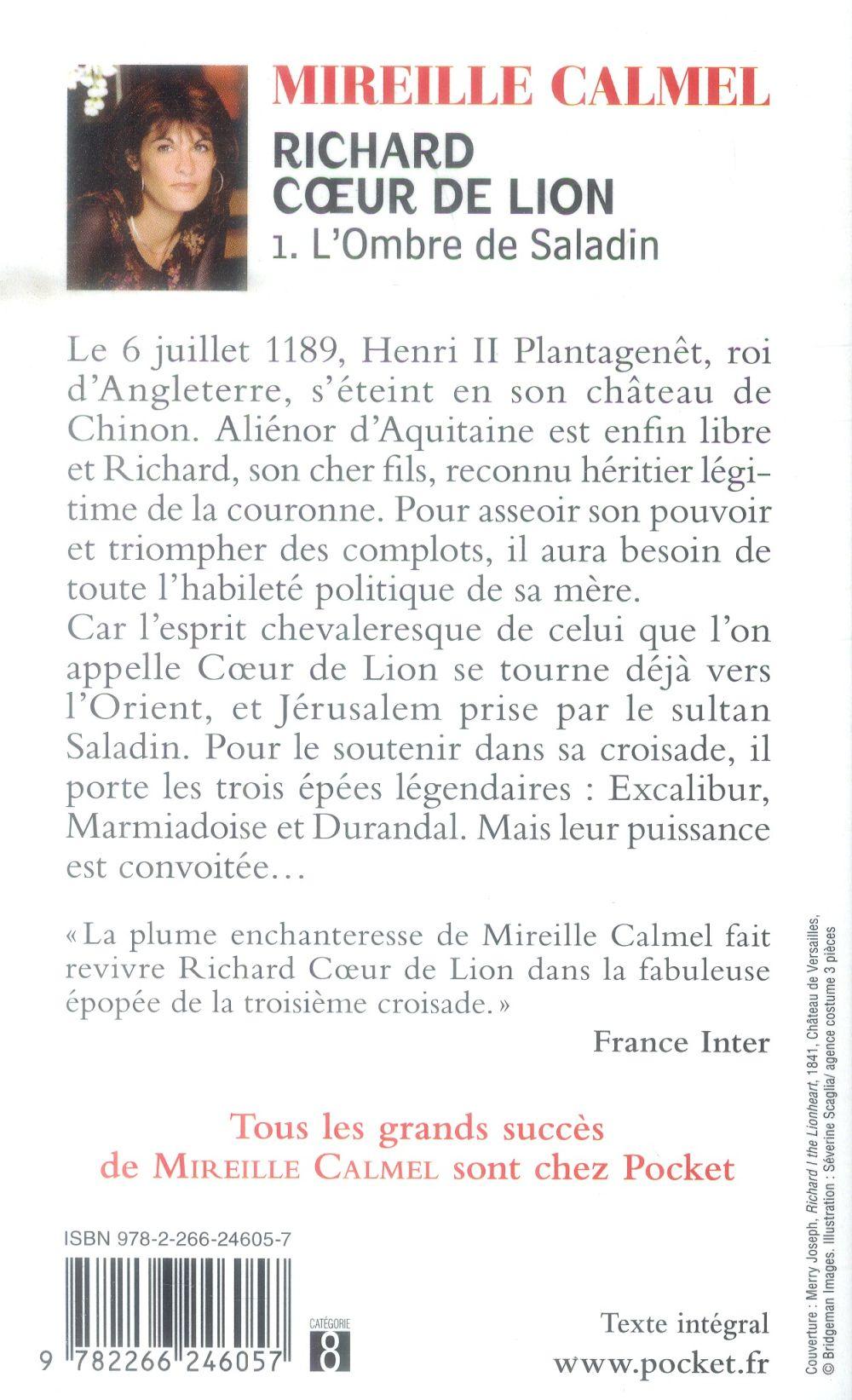 Richard coeur de lion t.1