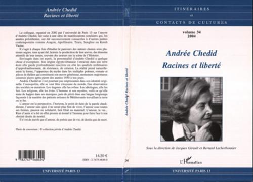 Andrée Chedid  - Bernard Lecherbonnier  - Lecherbonnier  - Jacques Girault
