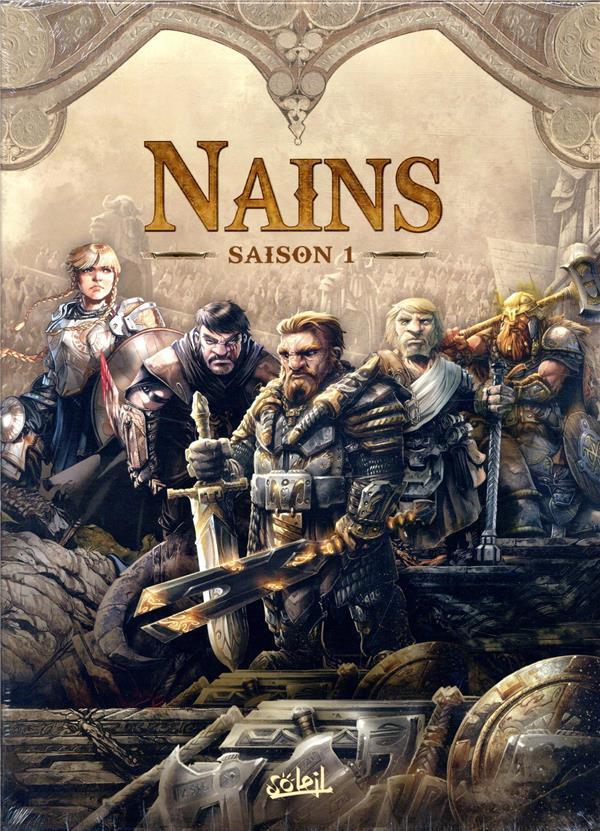 Nains ; COFFRET T.1 A T.5
