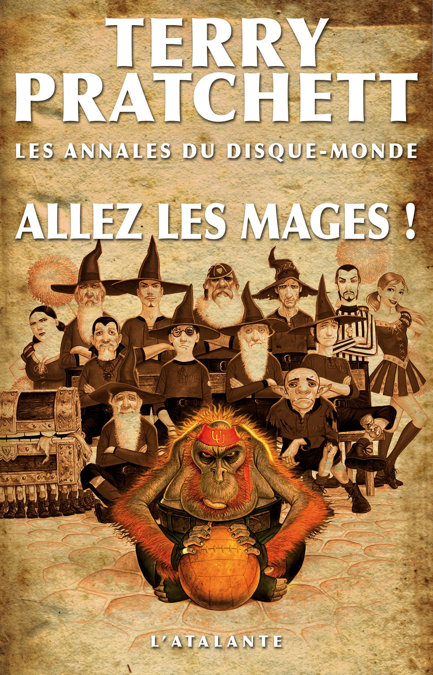 Les annales du Disque-monde T.33 ; allez les mages !