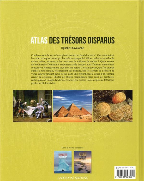 Atlas des trésors disparus
