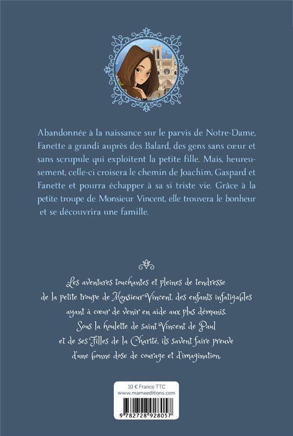 La petite troupe de Monsieur Vincent T.2 ; Zélie, l'orpheline de Notre-Dame