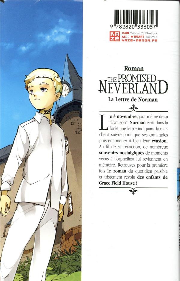 The promised Neverland T.1 ; la lettre de Norman