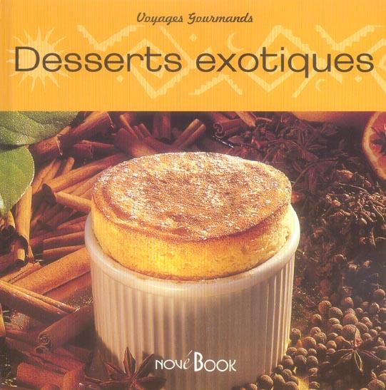 Desserts exotiques