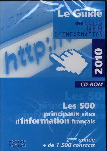 Le guide des sites web d'information (édition 2010)