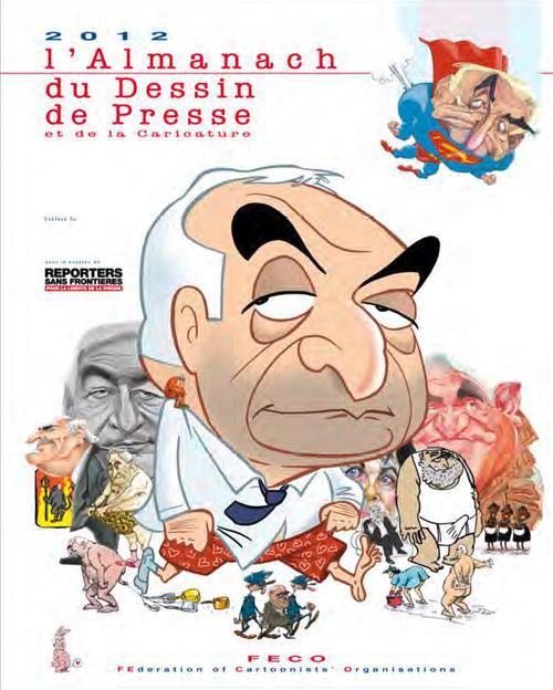 L'almanach 2012 du dessin de presse et de la caricature