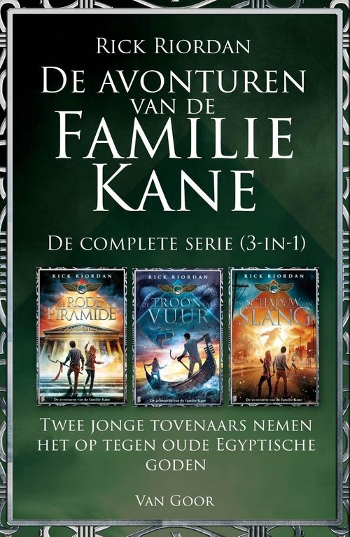 De avonturen van de familie Kane - De complete serie (3-in-1)