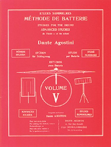 Methode De Batterie T.5 ; Etudes Superieures
