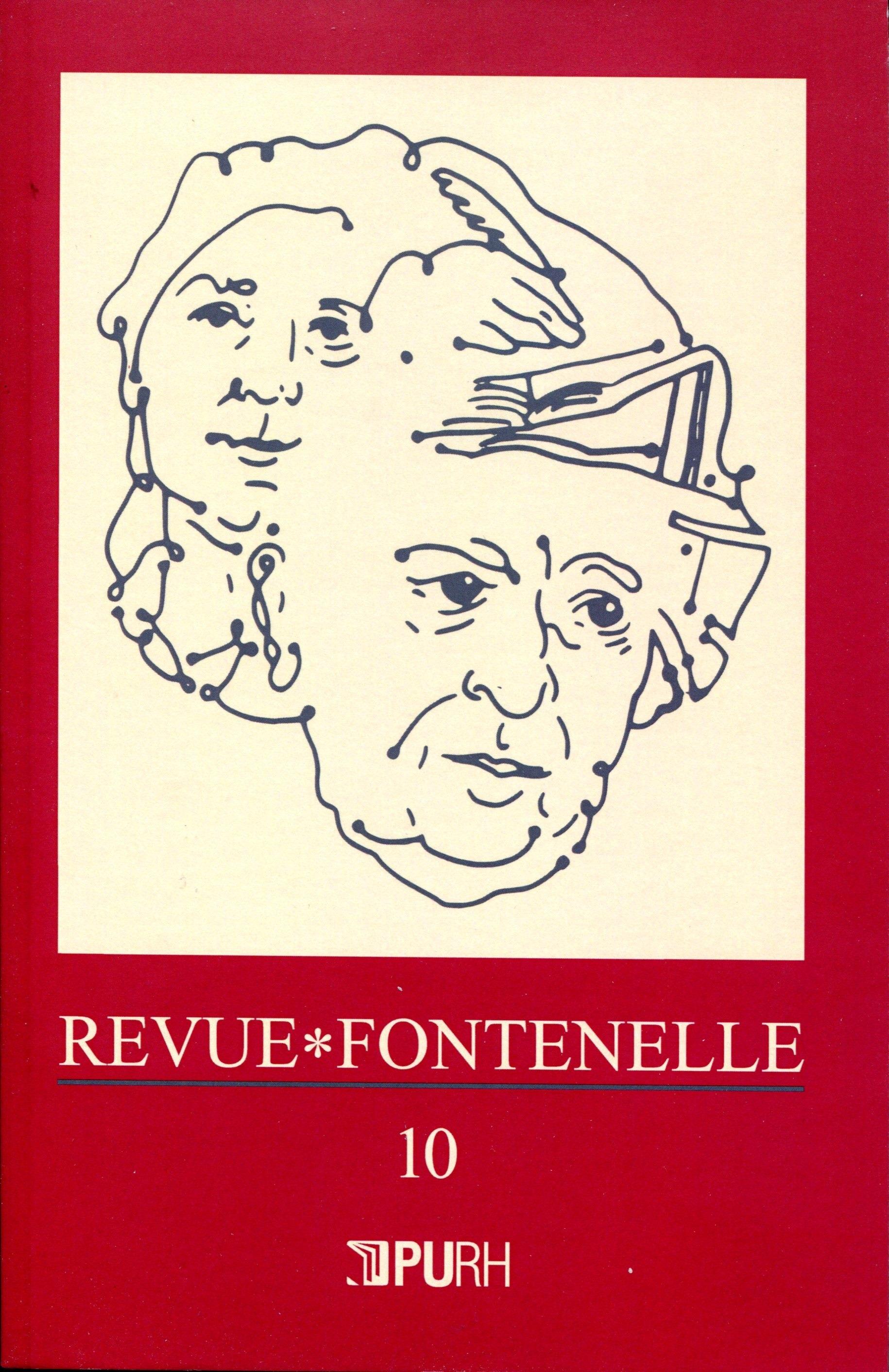 Revue fontenelle, n  10/2012. le siecle pastoral