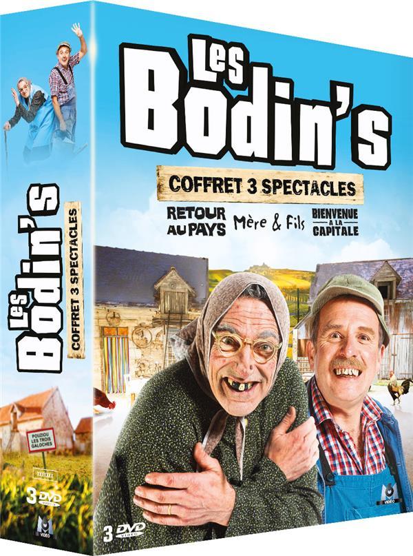 Les Bodin's - Coffret spectacles