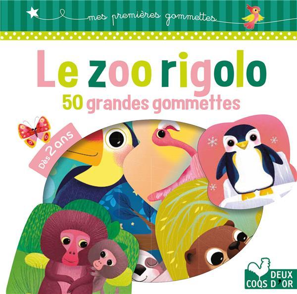 GOMMETTES ; le zoo rigolo
