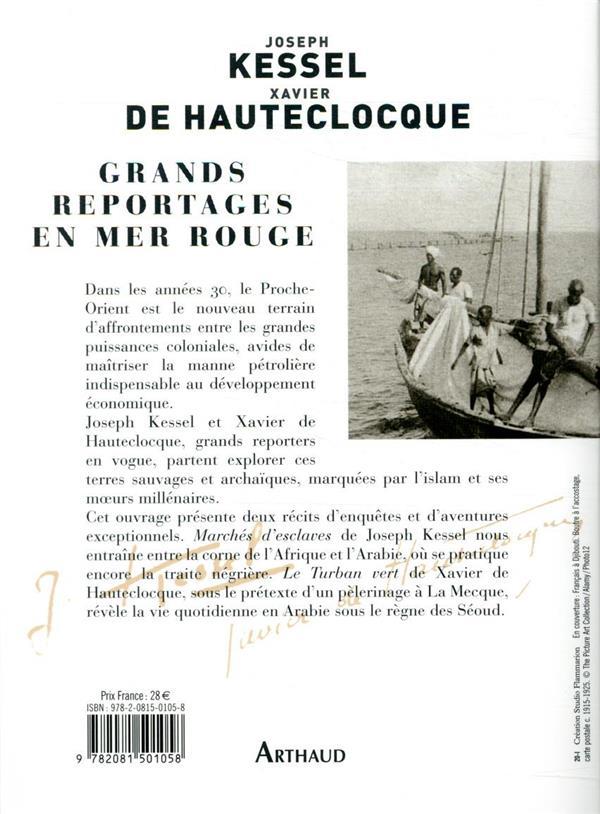 Grands reportages en Mer rouge : marché d'esclaves ; le turban vert