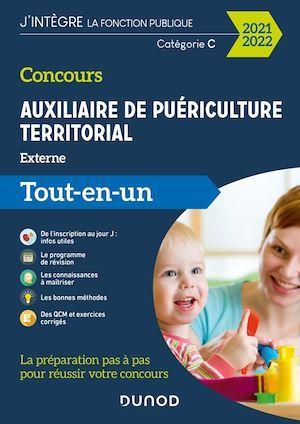 Concours auxiliaire de puériculture territorial ; externe ; tout-en-un (édition 2021/2022)