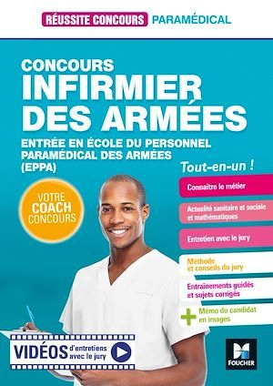 Réussite concours ; infirmier des armées ; entrée en école du personnel paramédical des armées (EPPA) ; tout-en-un !