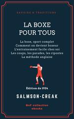 Vente Livre Numérique : La Boxe pour tous  - Salmson-Creak