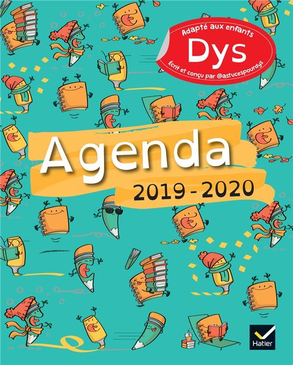 XXX - AGENDA 2019-2020 ADAPTE AUX ENFANTS DYS