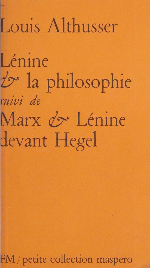 Lénine et la philosophie