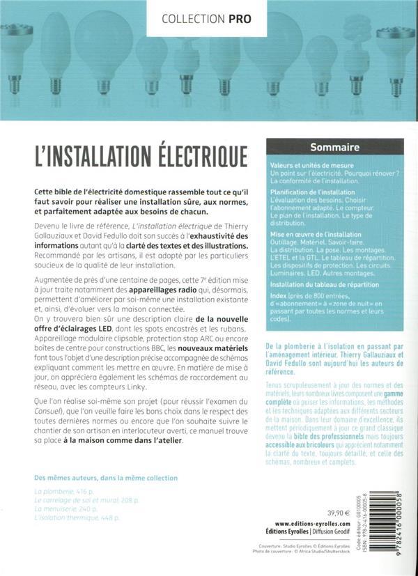 L'installation électrique (7e édition)