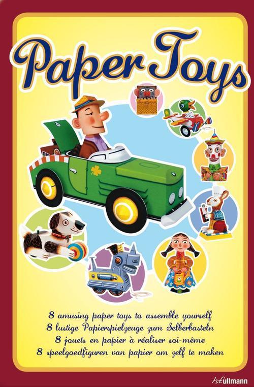 Paper toys ; 8 jouets en papier à réaliser soi-même ; coffret