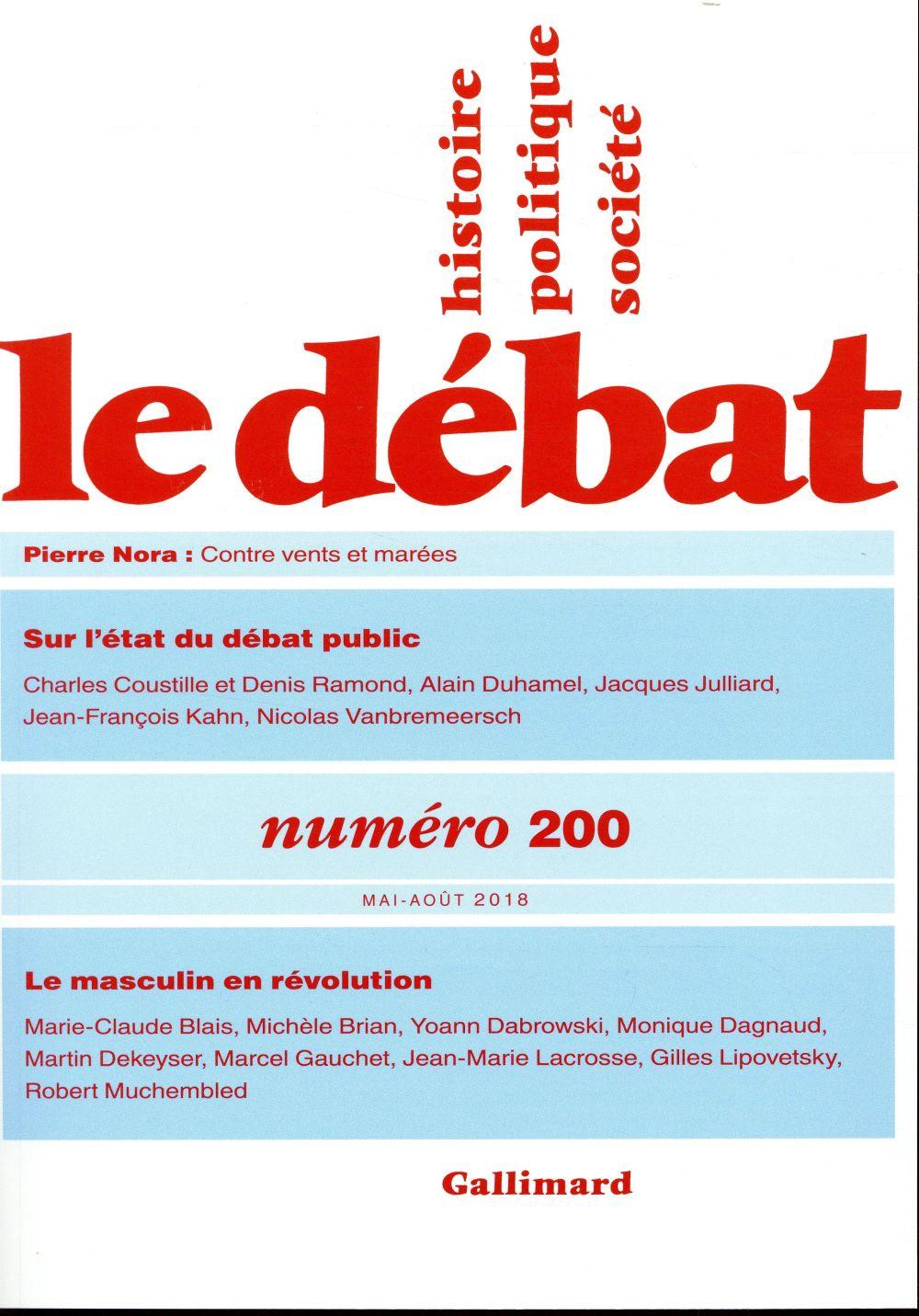 Revue le debat ; mai/aout 2018