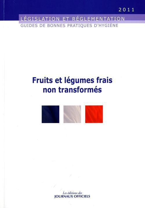 Fruits et legumes frais non transformes