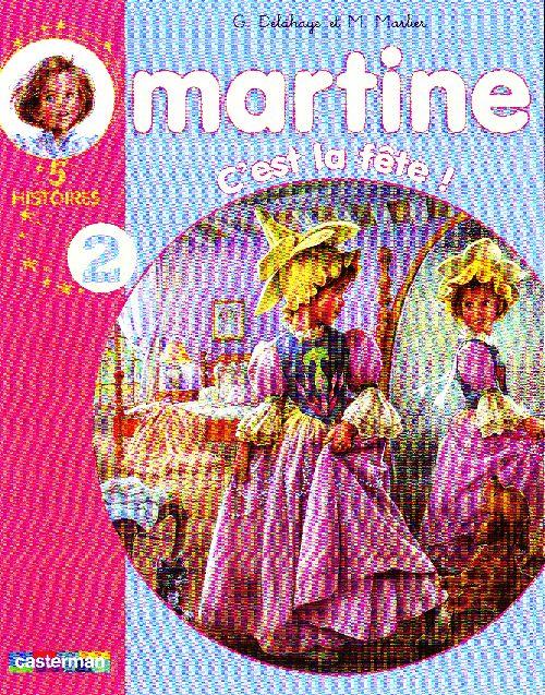 RECUEILS MARTINE T.2 ; c'est la fête !