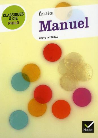 Le Manuel, D'Epictete