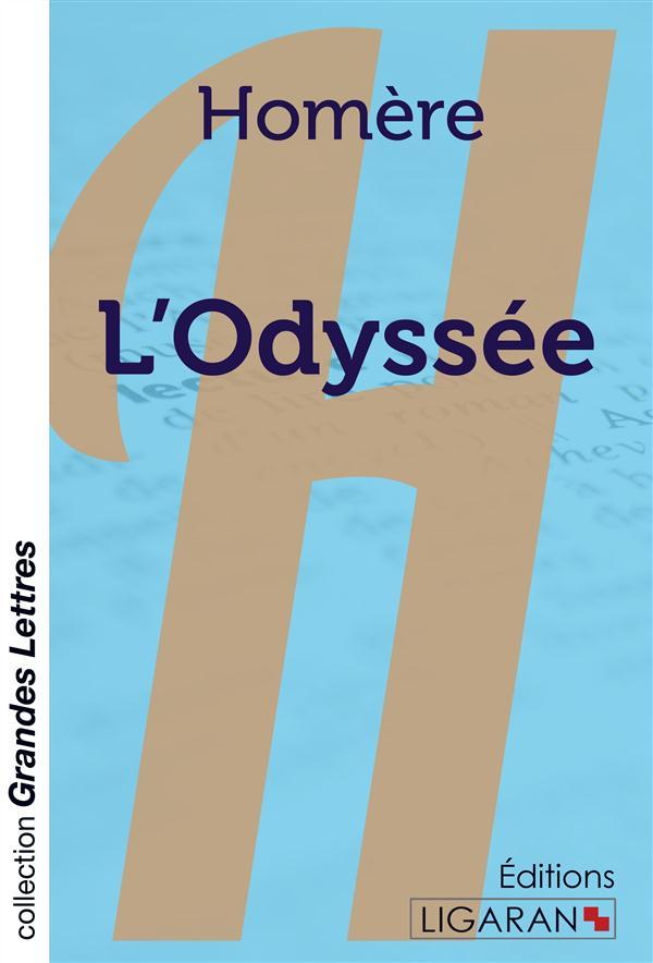 L'odyssee (grands caracteres)