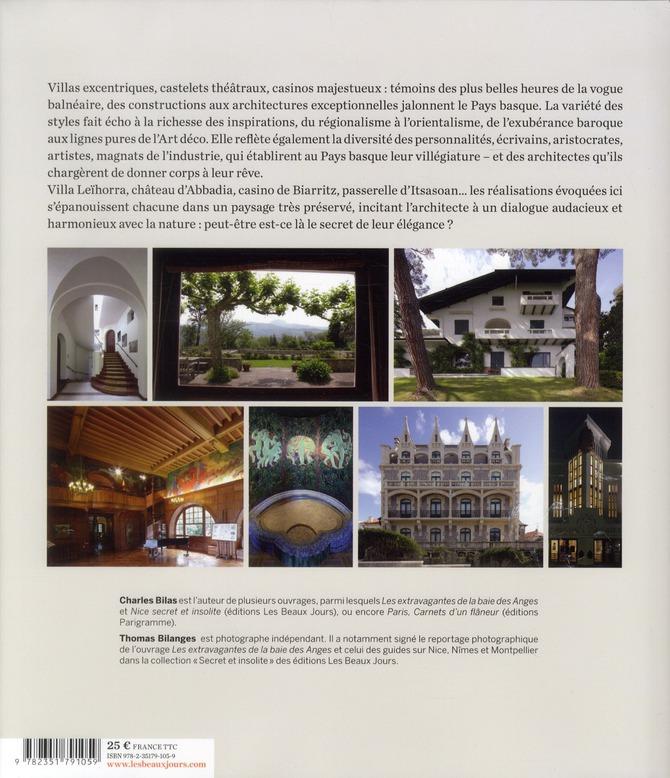 les élégantes du Pays basque ; architectures plurielles ; 1860-1930