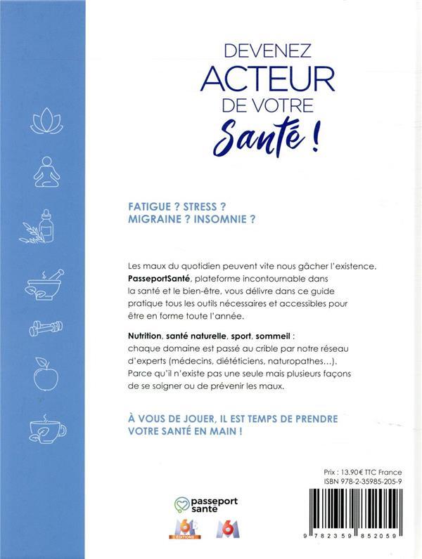 Passeport santé ; devenez acteur de votre santé ! ; votre guide forme et bien-être