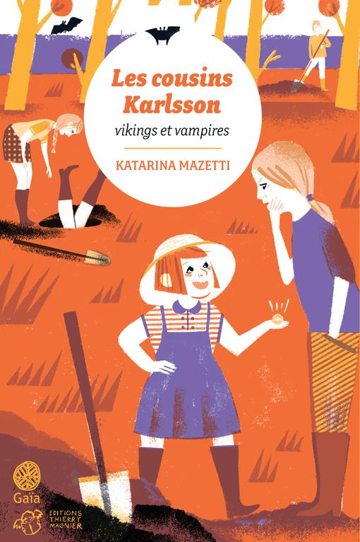 Les cousins Karlsson T.3 ; vikings et vampires