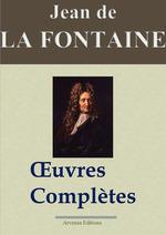 Vente Livre Numérique : Jean de La Fontaine : Oeuvres complètes illustrées | Les 425 fables de La Fontaine, contes et pièces de théâtre  - Jean (de) La Fontaine