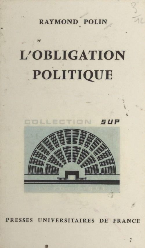 L'obligation politique