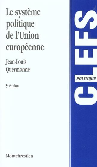 Systeme politique de l'union europeenne