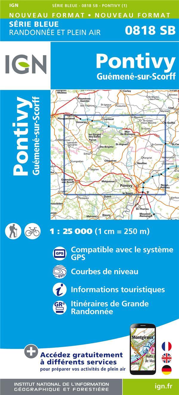 0818SB ; Pontivy, Guémené-sur-Scorff (édition 2018)